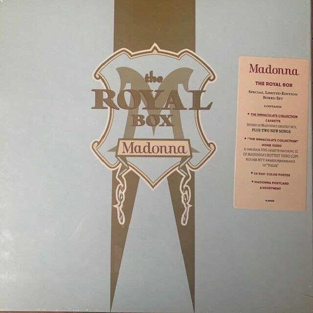 Madonna - The Royal Box Cassette Edition - Sealed w/ Promo Hype Sticker
