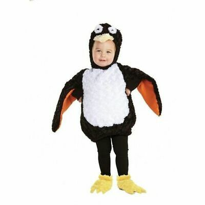 UNDERWRAPS BELLY BABIES PENGUIN KID'S HALLOWEEN COSTUME ASST SIZES NEW 25974 - Baby Penguin Costume