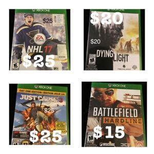 •*•*•*•XBOX ONE GAMES!!!•*•*•