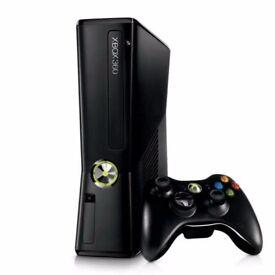 XBOX 360 CONSOLE WITH - 1 CONTROLLER, HDMI, FARCRY 3, GTA V, ELDER SCROLLS:SKYRIM - £65