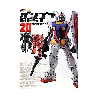 Gundam Model Kit Best 20 Master Grade Of One Year War