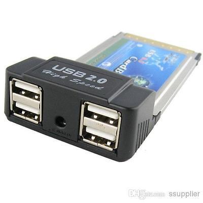 4 port usb 2.0 cardbus Card Best Connectivity