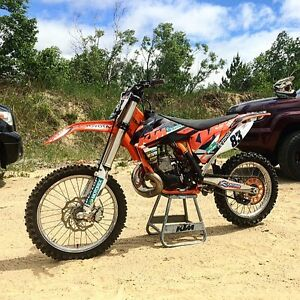 2012 KTM 250SX 2 stroke motocross bike very clean