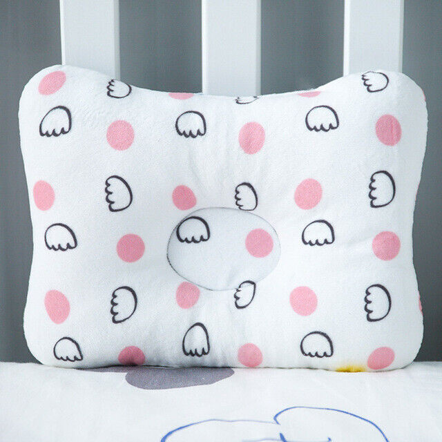 Baby Infant Newborn Pillow Flat Head Sleeping Support Prevent Soft Breathable #7