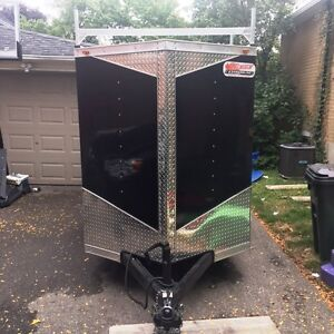 5X8 Cargo Trailer With Extra Features