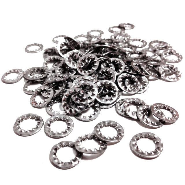 INTERNAL TOOTH SERRATED LOCK WASHERS SHAKEPROOF STAINLESS STEEL WASHER TOOTHED