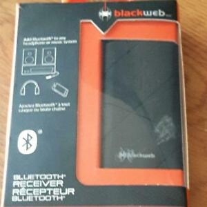 NEW: OPENED BOX Blackweb Bluetooth Receiver - $15 (Cash, NO TAX)