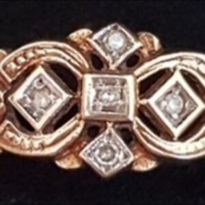 Vintage Ornate Diamond 9ct Yellow Gold Ring Greenbank Logan Area Preview