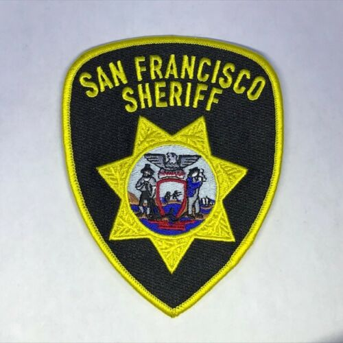 San Francisco Sheriff jacket patch