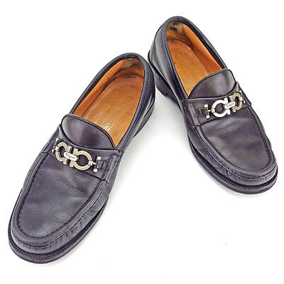 Auth Salvatore Ferragamo Loafers Men