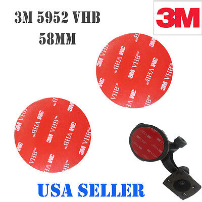 3m 2x 58mm Vhb Double Sided Foam Adhesive Tape 5952 Automotive Mounting Gps