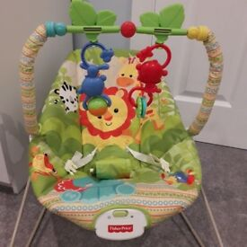 Fisher price jungle baby bouncer