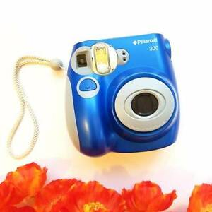 Polaroid 300 Instax Camera (Blue) Sydney City Inner Sydney Preview