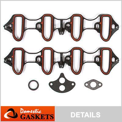 Sierra Intake Manifold Gasket - Intake Manifold Gaskets fit 99-03 Chevrolet Silverado GMC Sierra 4.8L 5.3L 6.0L