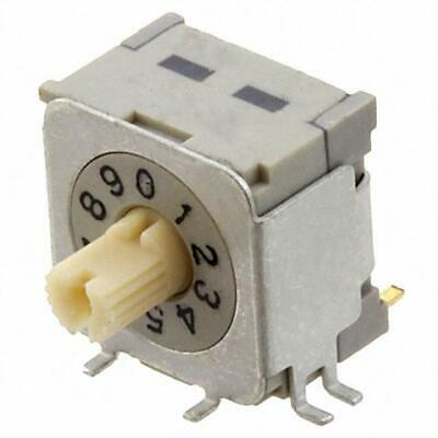 Brand New 1 Pc Nd3-kr10h Switch Rotary Dip Bcd 100ma 5v Nkk Switches