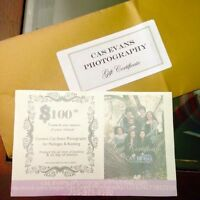 $100 Photography Gift Certificate
