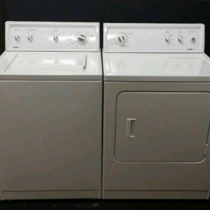 Kenmore washer dryer work conditions delivery available