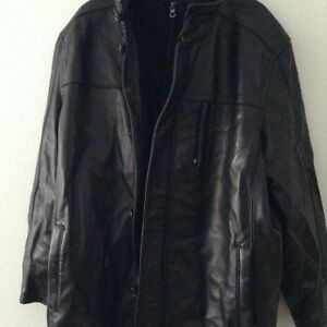 Genuine Leather Coat (never worn)