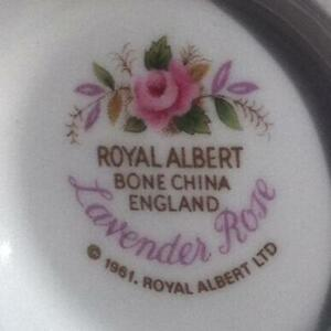 Royal Albert Lavender rose dinner set