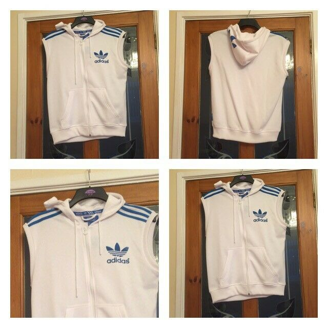 NEW WITH TAGS ADIDAS GILLET SIZE SMALL