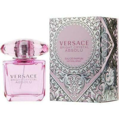 VERSACE Bright Crystal ABSOLU Eau de Parfum Natural Spray 3oz NIB FREE SHIPPING