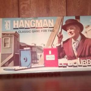 Hangman - Vintage Board Game / Jeu classique - Le Bourreau