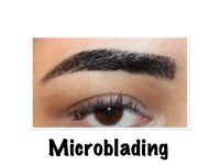 Gumtree offer: microblading £75, semi permanent makeup eyebrows £85, individual eyelashes from £40