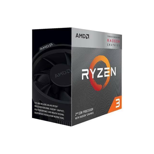 AMD YD3200C5FHBOX Ryzen 3 3200G with Radeon Vega 8 Graphics Quad-Core 3.6GHz