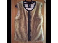 Primark Atmosphere Fur Gilet - UK 8