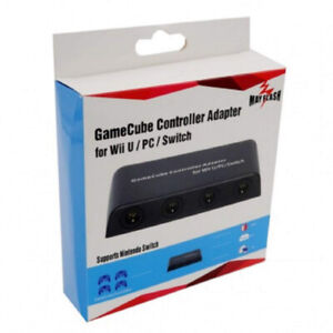 Pending controller Adapter for Wii U, PC USB and Switch, 4 Port
