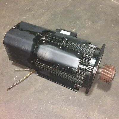 Indramat 15 Kw Ac Spindle Drive Motor 2ad 132c-b35rl-ad01s013 7500 Rpm Used