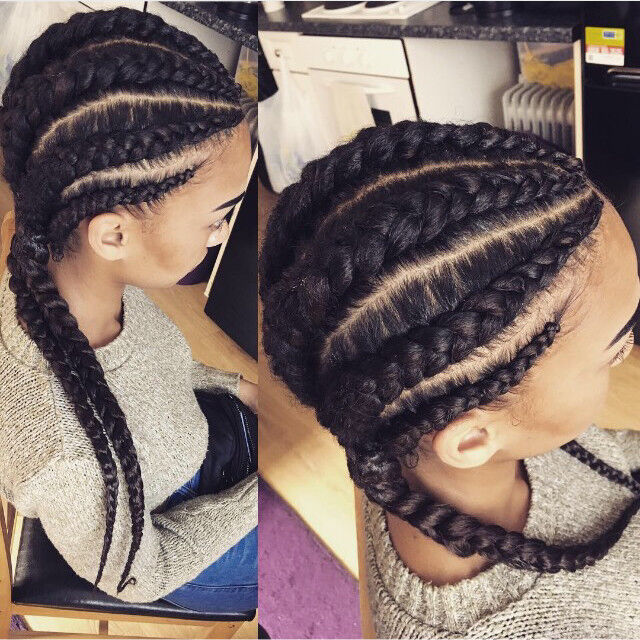 Afro Hairdresser Leicester La Weave Box Braids Twists Dreadlocks