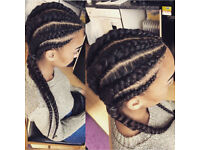 AFRO HAIRDRESSER LEICESTER LA weave box braids twists dreadlocks MOBILE salon HAIR EXTENSIONS