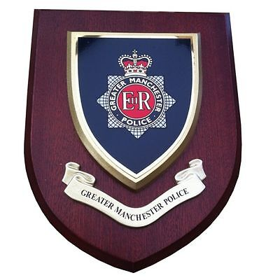 Greater Manchester Constabulary Police Wall Plaque