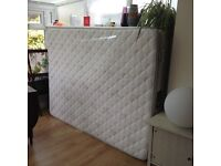 Hardly used King size sprung mattress
