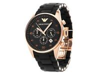 Emporio Armani Men's Chronograph Watch - AR5905 - Brand New - Boxed - Warranty - Genuine