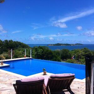 Villa, 4chambres, Clim,10Pers, 3Sdeau3Wc, accès mer, Kayak