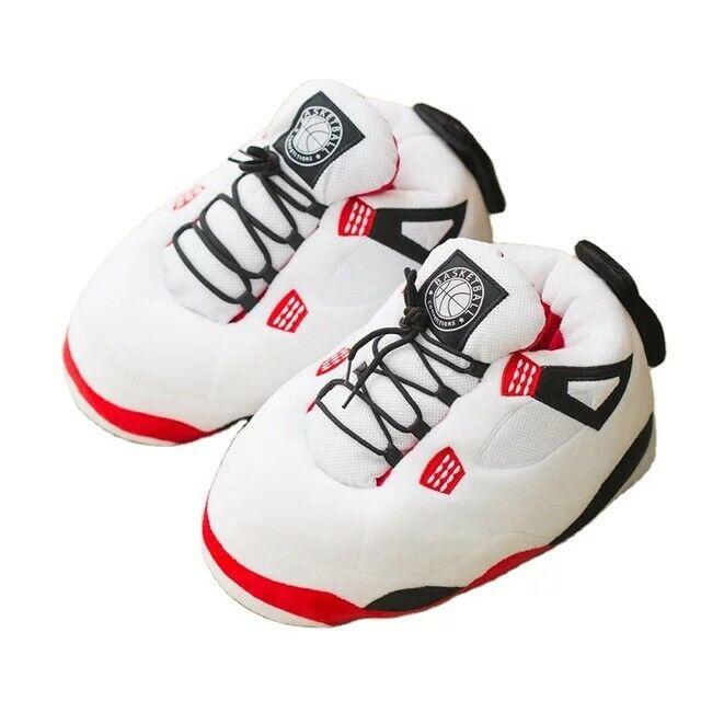 Jorda Retro Air Plush Slippers Yeez Boost  Beluga Basketball Sneaker M Size 6-11