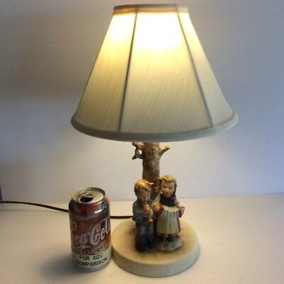 ~DUTCH AUCTION~ RARE Full Bee TMK-2 Hummel #231 Birthday Serenade TABLE LAMP