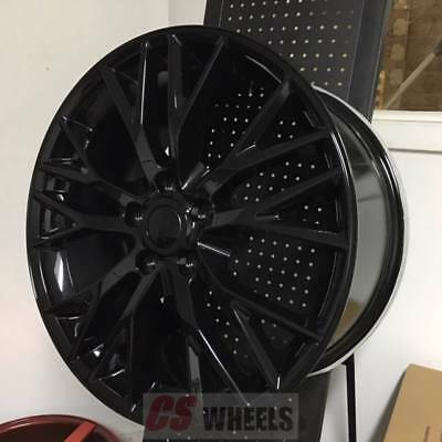 "Used, 18/19"" Z06 ZO6 STYLE GLOSS BLACK WHEELS RIMS FITS 2005-2013 CORVETTE C6 BASE for sale  Brooklyn"