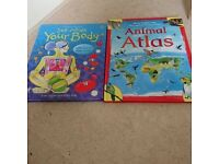Animal Atlas and Body books