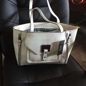 Nicole Miller leather purse