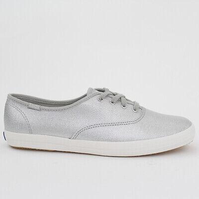 Schuhe Keds Schuh (KEDS DAMEN SCHUHE CHAMPION LUREX SILVER SILBER METALLIC WF57228)