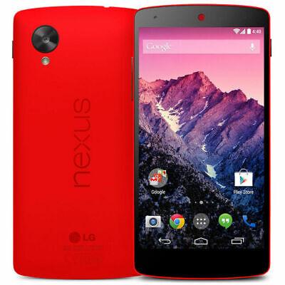 LG Nexus 5 D820 - 16GB - Red (Unlocked) Smartphone