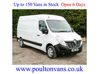 2016 (16) RENAULT MASTER MM35 BUSINESS + L2H2 MWB MEDIUM ROOF PANEL VAN, Medium