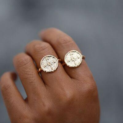 Friendship Friends Ring Women Vintage for Wanderlust Compass Rings Best