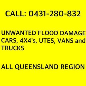 WANTED: ANY CARS-FLOOD-ACCIDENT-UNWANTED-FREE BODY REMOVAL Brisbane Region Preview