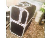 Black Jewellery and make up box