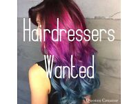 Experienced Full/Part Time Stylists Required