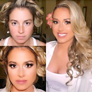 Bridal wedding makeup artist and hairstylist$199up
